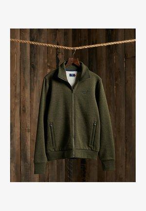 ORANGE LABEL CLASSIC TRACK - Zip-up hoodie - winter khaki grit