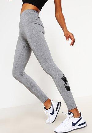 Leggings - Trousers - gris/noir