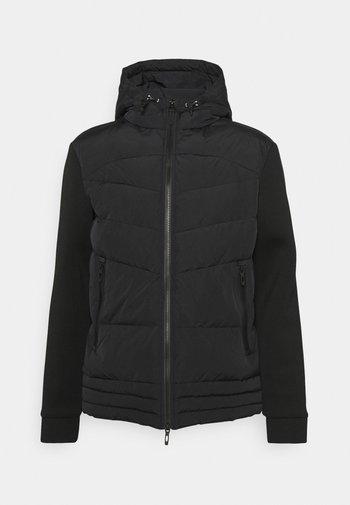 SLIM FIT WITH PADDING - Light jacket - black