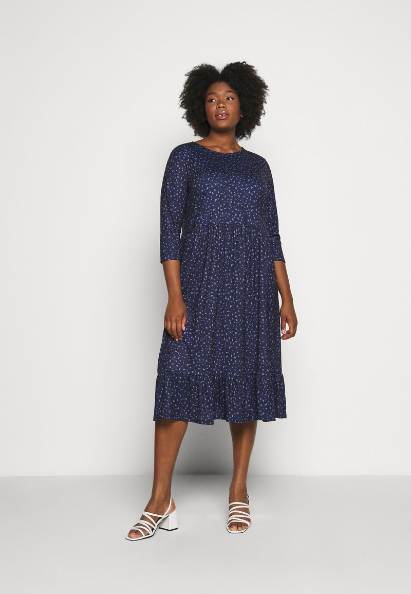 CAPSULE by Simply Be - DRESS - Day dress - navy
