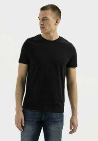 camel active - Basic T-shirt - asphalt - 0