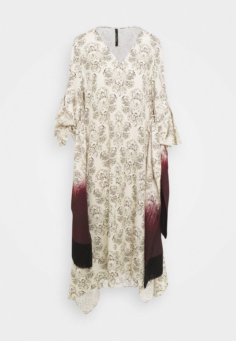 Mother of Pearl - VNECK DRESS WITH DRAPE SLEEVE TASSELS - Kjole - ivory