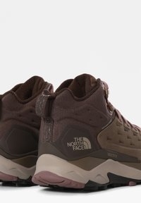 The North Face - VECTIV EXPLORIS MID FUTURELIGHT - Hiking shoes - BIPARTISAN BROWN/COFFEE BROWN - 1