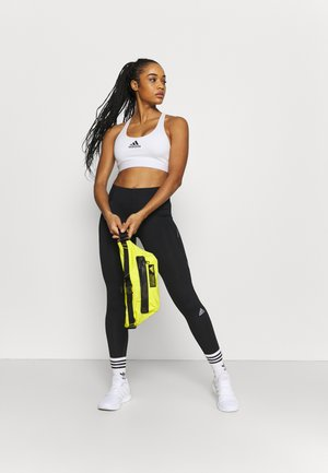 SPORT CASUAL WAIST BAG - Bum bag - acid yellow/black