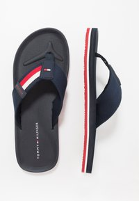 Tommy Hilfiger - SPORTY CORPORATE BEACH  - Tongs - blue - 1
