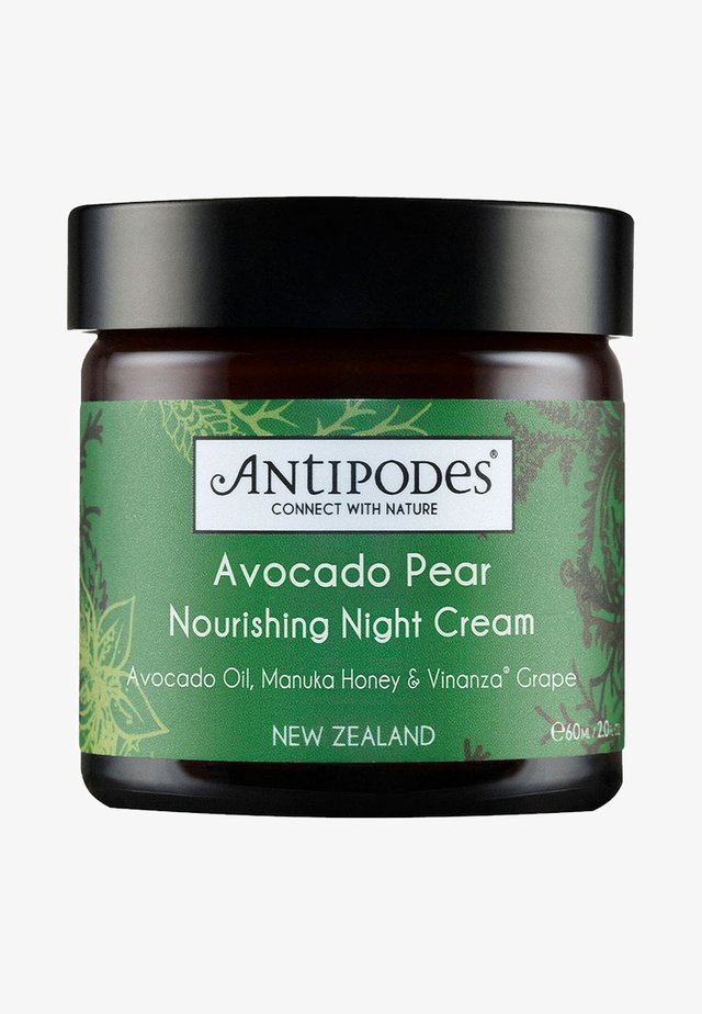 AVOCADO PEAR NOURISHING NIGHT CREAM  - Night care - -