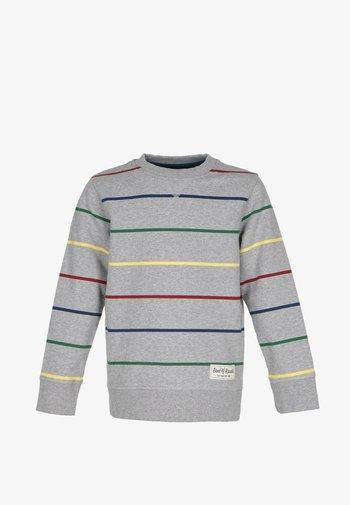 Sweatshirt - grey-mel