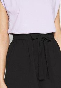 ONLY - ONLLAVENDER PAPERBAG - Shorts - black - 3