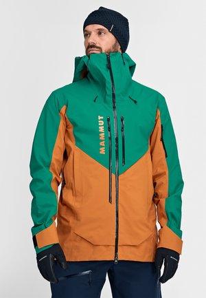 Kurtka narciarska - tumeric-deep emerald