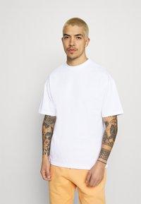9N1M SENSE - SILENCE WAVES UNISEX - Print T-shirt - white - 0