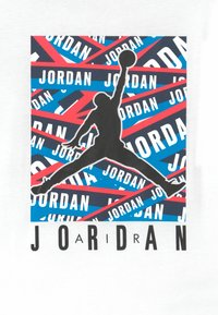 Jordan - TAPED UP - Top s dlouhým rukávem - white - 2