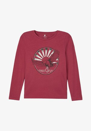 Longsleeve - earth red