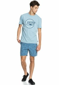 Quiksilver - INTO THE WIDE - Print T-shirt - blue heaven - 1
