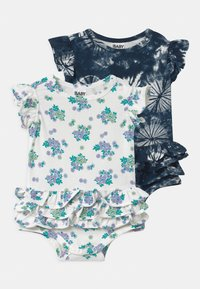 Cotton On - ALICE RUFFLE 2 PACK  - T-shirt print - blue - 0