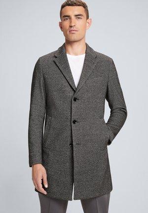 HIGH STREET - Short coat - schwarz meliert