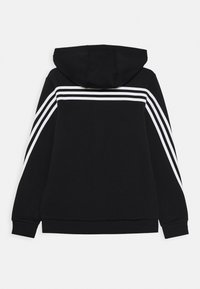 adidas Performance - Mikina na zip - black/white - 1