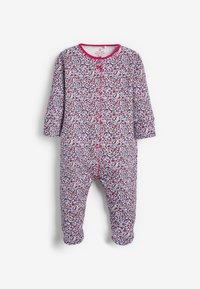 Next - 3 PACK FLORAL  - Sleep suit - red - 3
