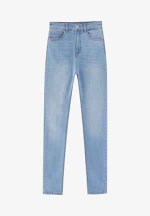 MIT HOHEM BUND - Jeans Skinny Fit - light-blue denim