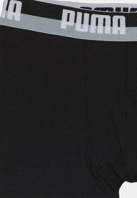 Puma - BOYS GLITCH BOXER 2 PACK - Boxerky - black combo - 3