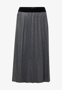 Street One - MIT GLITZER COATING - A-line skirt - grau - 3