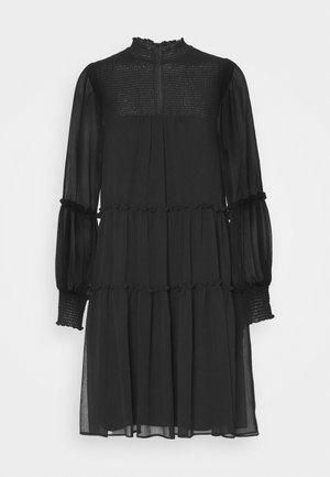 DIVINE RUFFLE DRESS - Kjole - black