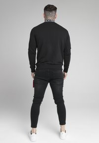 SIKSILK - ESSENTIAL HIGH NECK - Sweatshirt - black - 2