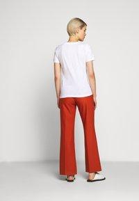 J.CREW - VINTAGE SCOOP - Basic T-shirt - white - 2