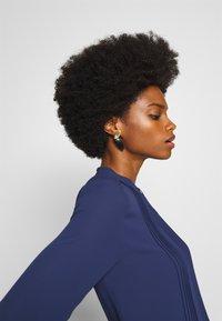 Rich & Royal - DRESS WITH PIN TUCKS AND PLISSEE - Denní šaty - deep blue - 3