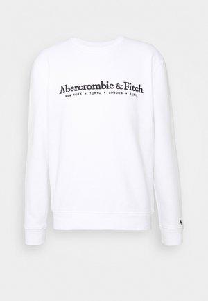HOLIDAY TECH LOGO CREW - Sweatshirt - white