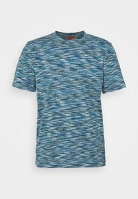 MANICA CORTA - Print T-shirt - blue