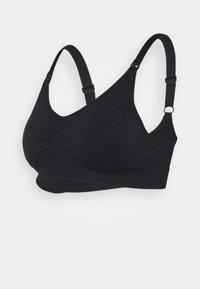 DORINA - SALLY 2 PACK - Triangle bra - black/grey - 1