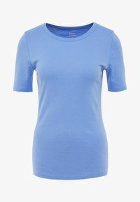 J.CREW - CREWNECK ELBOW SLEEVE - Basic T-shirt - shale blu - 3