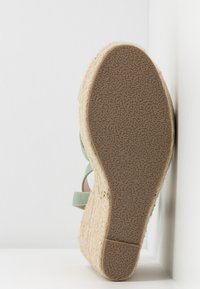 RAID - ELISHA - Sandály na vysokém podpatku - mint - 4