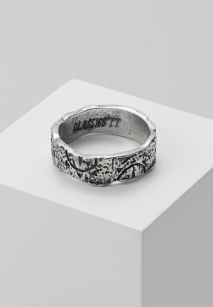 SUN DIAL PATTERN BAND RING - Ring - silver-coloured