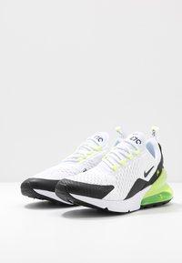 Nike Sportswear - AIR MAX 270 ESS - Sneakers - white/black/volt - 2