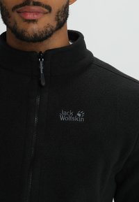 Jack Wolfskin - MOONRISE JACKET MEN - Fleecejakker - black - 3