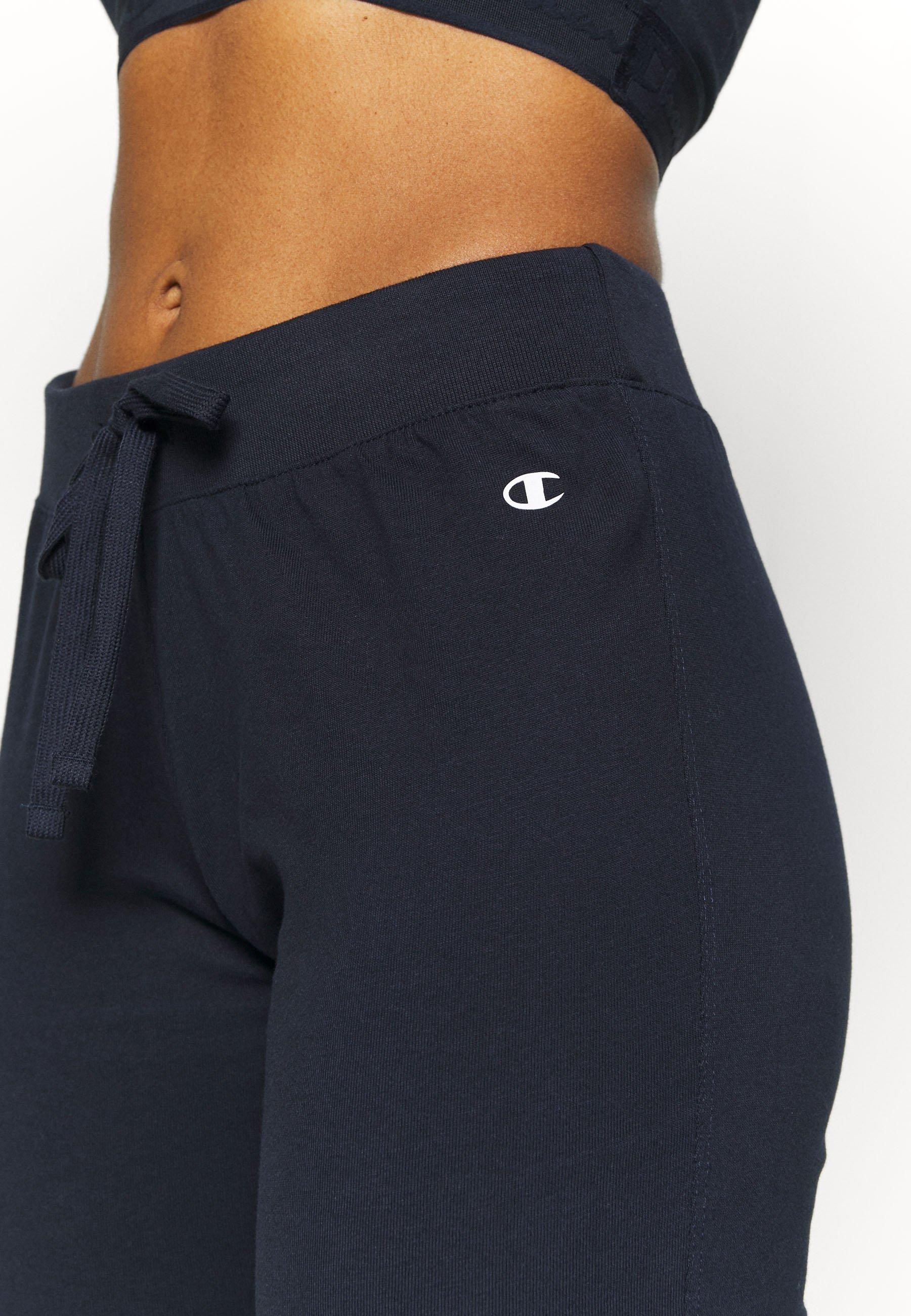 Champion DRAWSTRING PANTS - Tracksuit bottoms - dark blue uzLg2