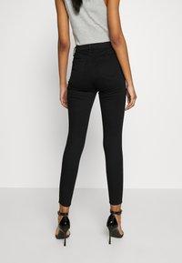 Topshop - SUPER JONI - Jeans Skinny Fit - black - 2