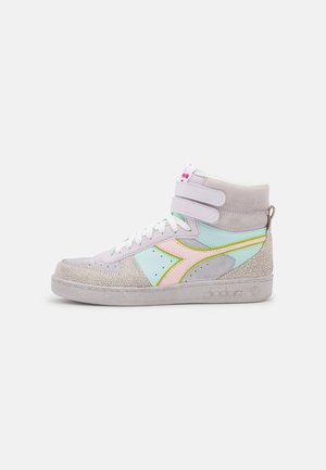 MAGIC BASKET MID ICONA - Sneakers hoog - orchid tint/halogen blue/potpour