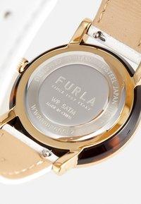 Furla - FURLA MINIMAL SHAPE - Hodinky - white/gold-coloured - 3