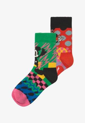 DISNEY MICKEY & MINNIE 2 PACK - Socks - multi-coloured