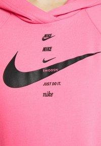 Nike Sportswear - HOODIE - Jersey con capucha - pink glow/black - 7