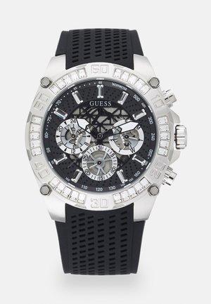 TROPHY - Cronografo - black/silver-coloured