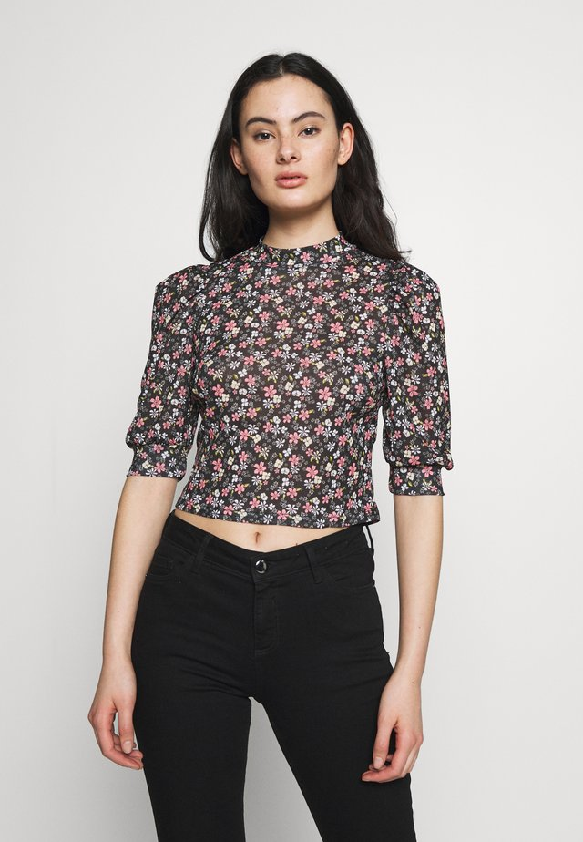 LOLA SKYE PUFF SLEEVE TOP - Blouse - multi