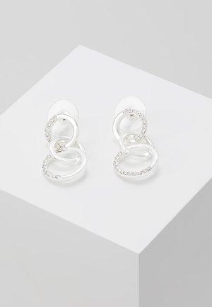 PORTAL SHORT EAR - Orecchini - silver-coloured