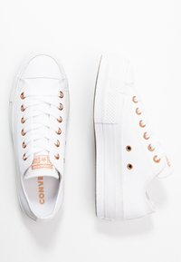 Converse - CHUCK TAYLOR ALL STAR LIFT - Tenisky - white - 3