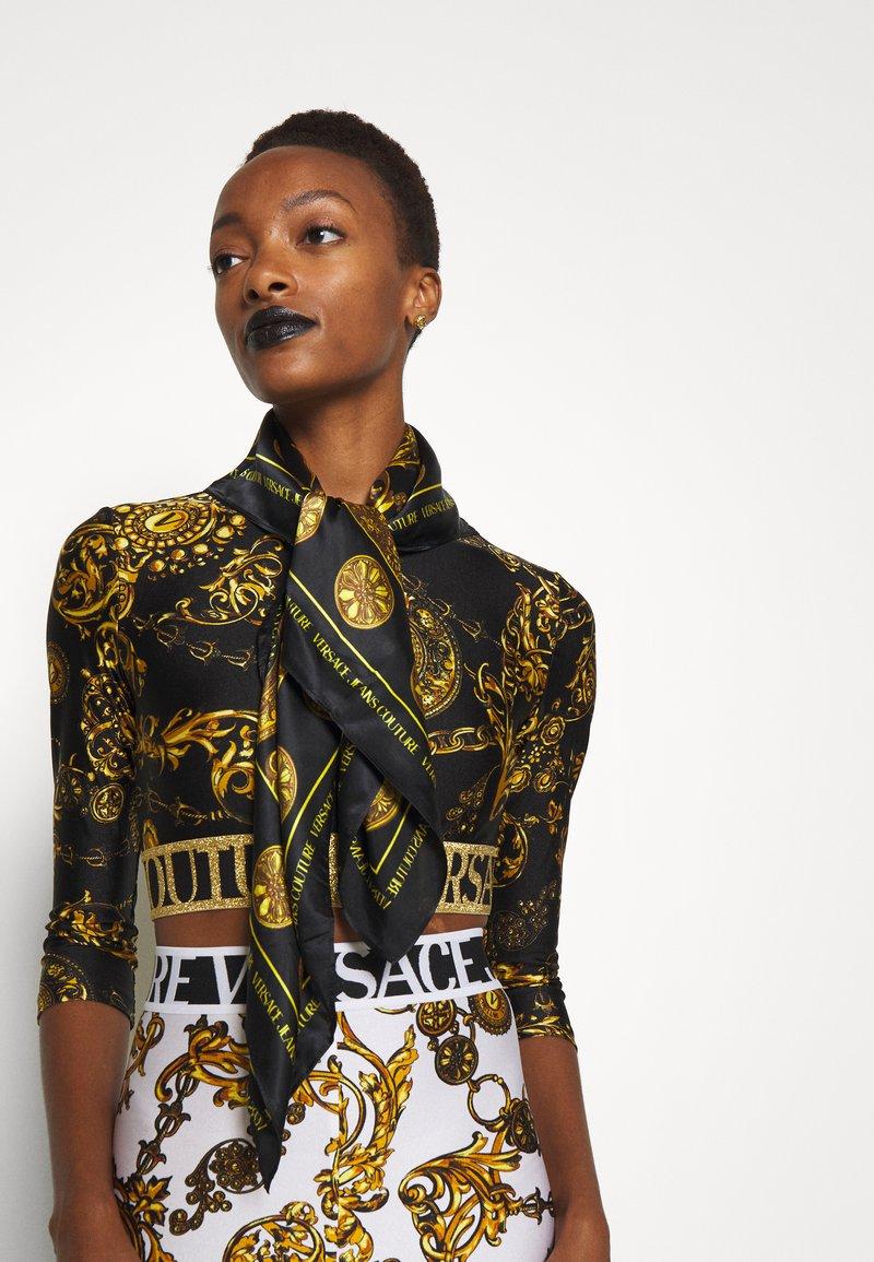 Versace Jeans Couture - REGALIA BAROQUE SCARF - Halsdoek - nero
