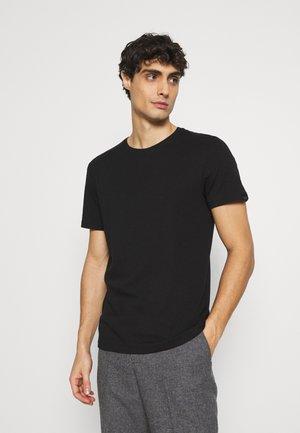 BASIC CREW NECK TEE - T-shirt - bas - black