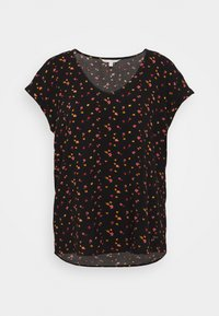 PRINTED SPORTY BLOUSE - Blouse - black/red