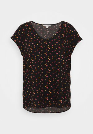 PRINTED SPORTY BLOUSE - Bluser - black/red